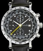 wristwatch World Time Chrono 2