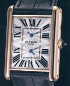 wristwatch Tank Louis Cartier XL 2 Timezone