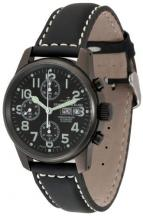 wristwatch Black Chrono