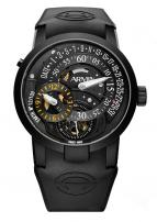 wristwatch Regulator Earth Titanium PVD black Limited Edition 100