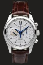 wristwatch Armand Nicolet White Dial in Steel