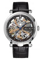 wristwatch Blue Chip Skeleton Automatic