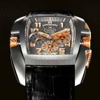 wristwatch Kuros Titanium and Red Gold
