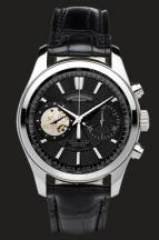 wristwatch Black Dial in Steel