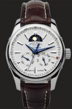 wristwatch White Dial in Steel