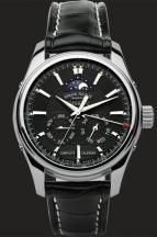 wristwatch Black Dial in Steel