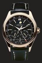 wristwatch Black Dial in rose gold
