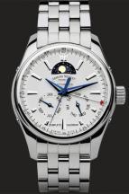 wristwatch White Dial with bracelet