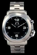 wristwatch Millemetri Polluce steel bracelet