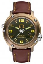 wristwatch Marlin Bronzo Green Dial
