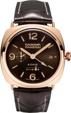 wristwatch Radiomir 8 Days GMT Oro Rosso