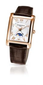 wristwatch Carree Moonphase Date