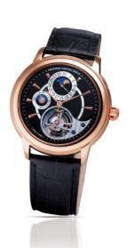wristwatch Heart Beat Manufacture Tourbillon