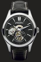 wristwatch Armand Nicolet Steel with black deal
