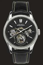 wristwatch Black Dial with diamond bazel