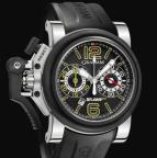 wristwatch Chronofighter Oversize G-BGP-001 Black