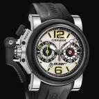 wristwatch Chronofighter Oversize G-BGP-001 White