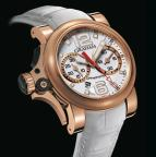 wristwatch Chronofighter R.A.C Trigger Gold White Rush