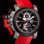wristwatch CHRONOFIGHTER OVERSIZE REFEREE - BLACK DIAL