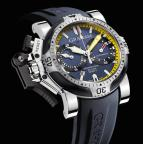 wristwatch Chronofighter Oversize Diver/Date Tech Seal Scarab