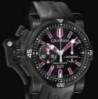 wristwatch Chronofighter Oversize DIVER DEEP PURPLE