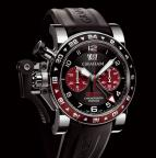 wristwatch CHRONOFIGHTER OVERSIZE GMT BORDEAUX STEEL
