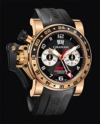 wristwatch CHRONOFIGHTER OVERSIZE GMT BLACK GOLD