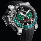 wristwatch CHRONOFIGHTER OVERSIZE GMT BLACK BRG STEEL
