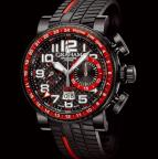 wristwatch Silverstone Stowe GMT Red