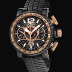 wristwatch SILVERSTONE LUFFIELD GMT GOLD