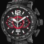 wristwatch SILVERSTONE LUFFIELD GMT RED