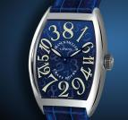 wristwatch Crazy Hours Blue Dial