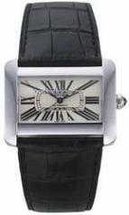 wristwatch Cartier Tank Divan Steel Automatic
