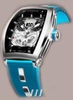 wristwatch Rebelle Twin-Time Tonneau Steel