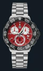 wristwatch Formula 1 Chronograph (SS / Red / SS)
