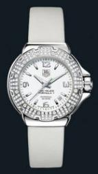 wristwatch Formula 1 Glamour Diamonds (SS-Diamonds / White / Strap)