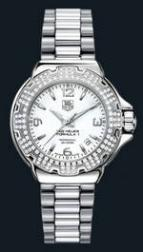 wristwatch Formula 1 Glamour Diamonds (SS-Diamonds / White / SS)