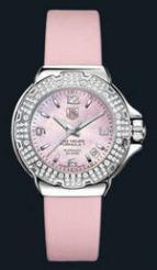 wristwatch Formula 1 Glamour Diamonds (SS-Diamonds / Pink MOP / Strap)