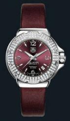 wristwatch Formula 1 Glamour Diamonds (SS-Diamonds / Maroon / Strap)
