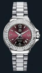 wristwatch Formula 1 Glamour Diamonds (SS-Diamonds / Maroon / SS)