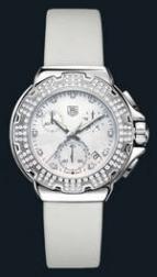 wristwatch Formula 1 Diamond Chronograph (SS-Diamonds / MOP / Strap)