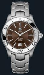 wristwatch Link Automatic Turning Bezel (SS / Brown / SS)