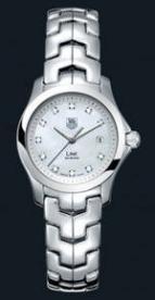 wristwatch Link Ladies Fixed Bezel (SS / MOP-Diamonds / SS)