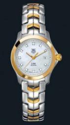 wristwatch Link Ladies (SS-YG / MOP-Diamonds / SS-YG)
