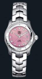 wristwatch Link Ladies (SS / Pink-MOP-Diamonds / SS)