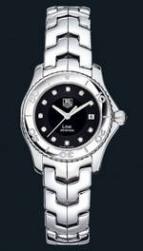 wristwatch Link Ladies (SS / Black-Diamonds / SS)