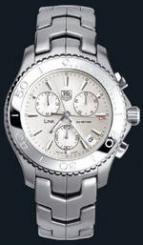 wristwatch Link Quartz Chronograph (SS / Silver / SS)