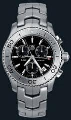wristwatch Link Quartz Chronograph (SS / Black / SS)