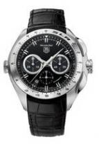 wristwatch TAG Heuer SLR (Black / Leather)