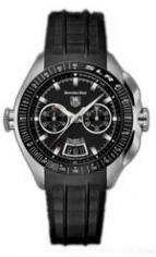 wristwatch Mercedes-Benz SLR (SS / Black / Rubber)